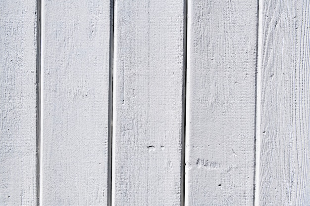Fond texturé en bois peint en blanc