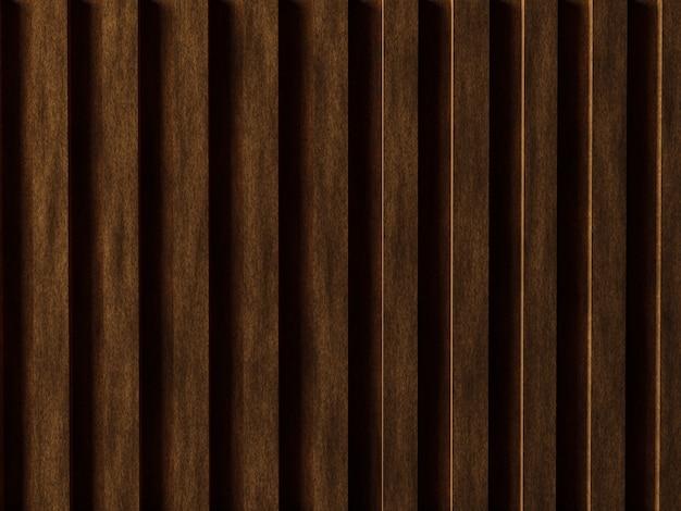 Fond de texture en bois réaliste de rendu 3d
