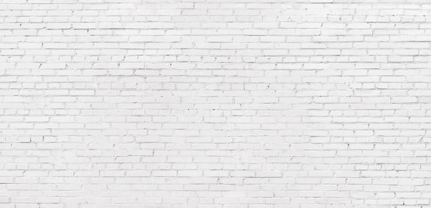 Fond de texture de brique blanche