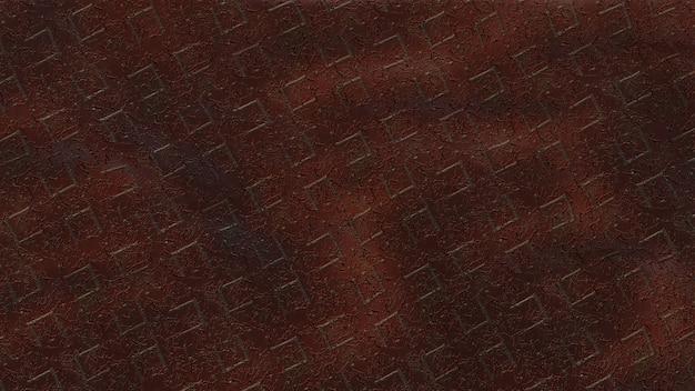 Fond de texture brique ondulée