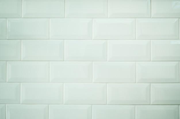 Fond de texture de carreaux blancs