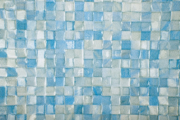 Fond de texture de carreaux de mosaïque. texture de mur de carreaux de céramique classique pour l'intérieur
