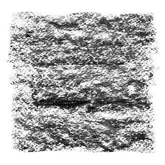 Fond texturé de charbon de bois noir carré - espace pour votre propre texte
