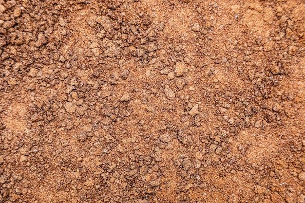 Fond de texture de chocolat au lait granulé