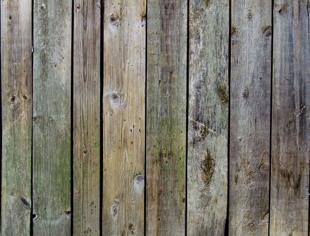 Fond de texture de clôture en bois rustique des couleurs verts et bleus