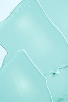 Fond de texture cosmétique menthe maquillage et soins de la peau cosmétiques crème produit luxe beauté marque hol ...