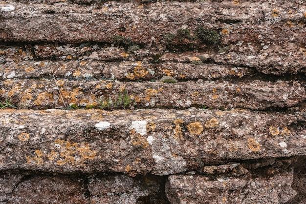 Fond de texture de couches de roche