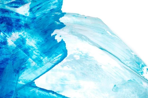 Fond texturé coup de pinceau bleu et blanc