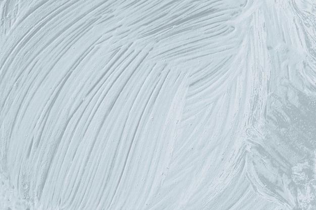 Fond texturé de coup de pinceau de peinture à l'huile grise