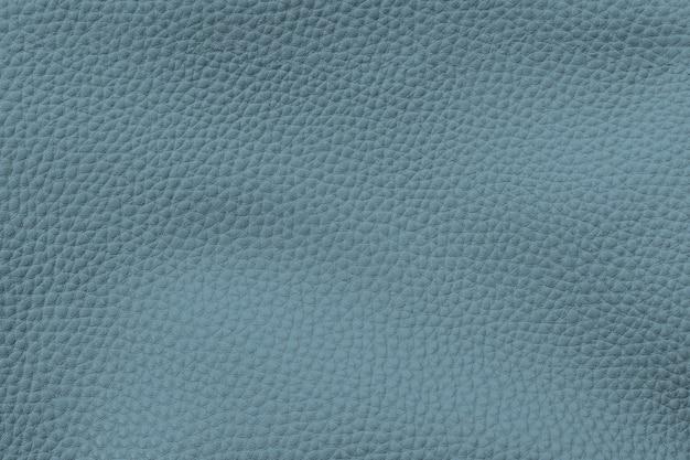 Fond texturé en cuir artificiel bleu