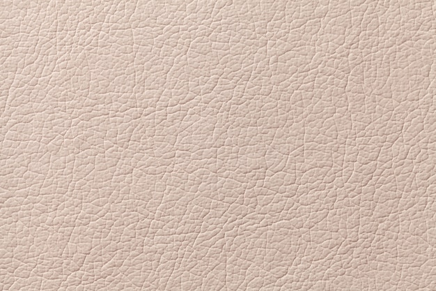 Fond de texture en cuir beige