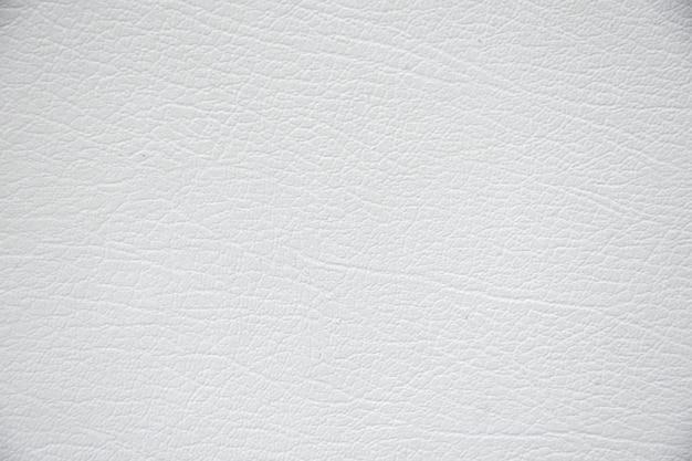 Fond de texture de cuir blanc.