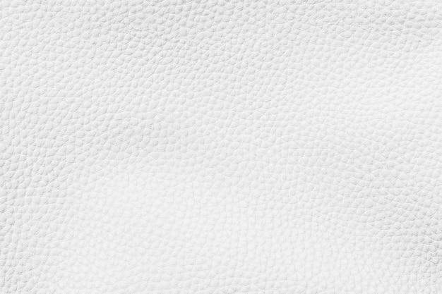 Fond texturé en cuir blanc