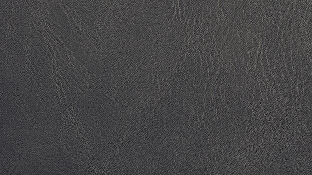 Fond de texture de cuir gris fond de peau naturelle foncée