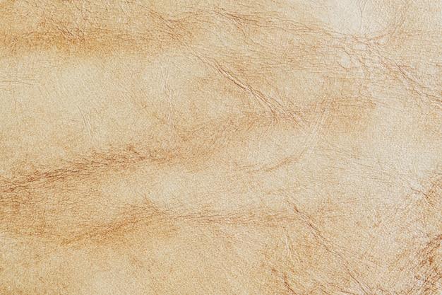 Fond texturé en cuir marron clair