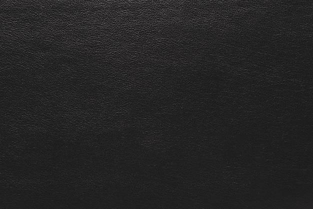 Fond de texture de cuir noir foncé