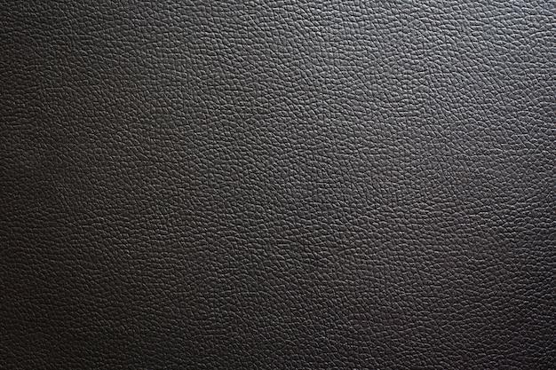 Fond de texture de cuir noir