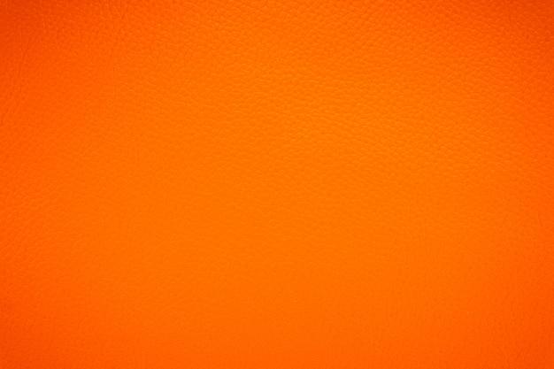 Fond de texture de cuir orange