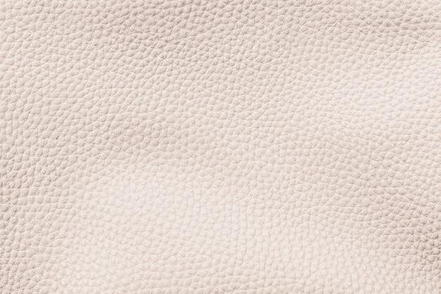 Fond texturé en cuir de vache beige