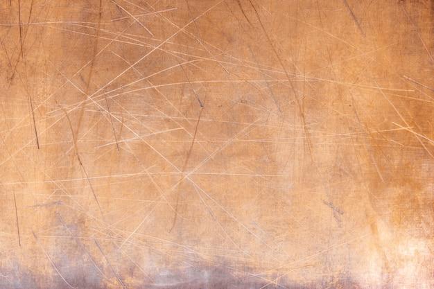 Fond de texture cuivre ou laiton brillant