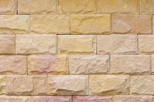 Fond de texture de décoration de mur de brique
