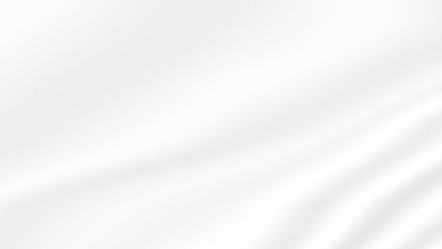 Fond de texture dégradé blanc lisse et ondulé