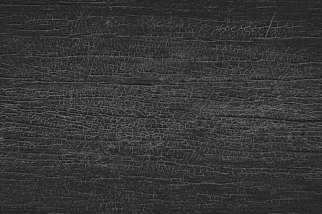 Fond de texture du bois noir.