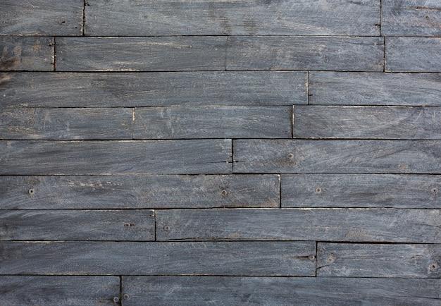 Fond et texture du mur de grange en bois noir décoratif
