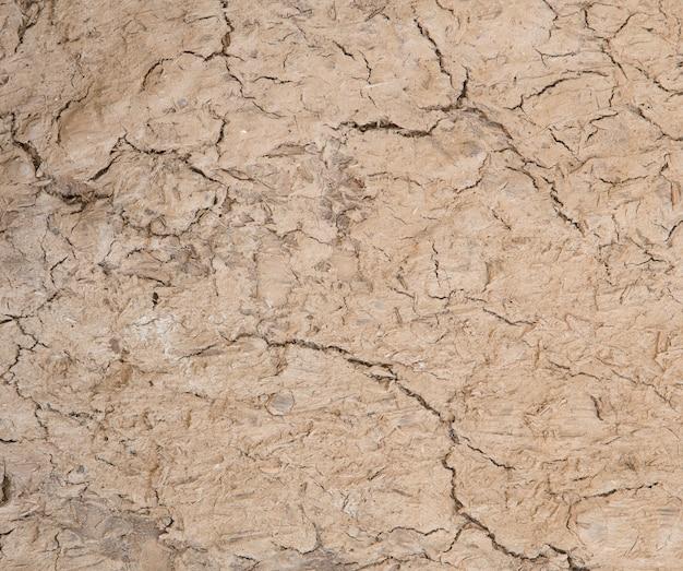Fond de texture du sol craqué