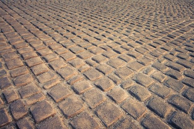 Fond et texture du sol en pierre, style de couleur vintage
