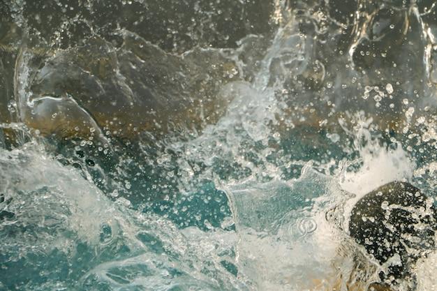 Fond de texture éclaboussure de l'eau