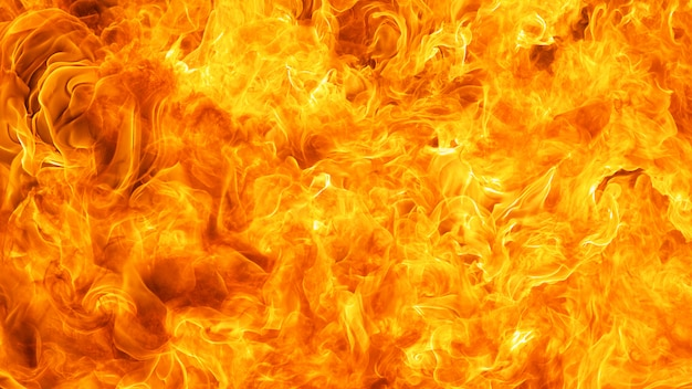 Fond de texture de feu