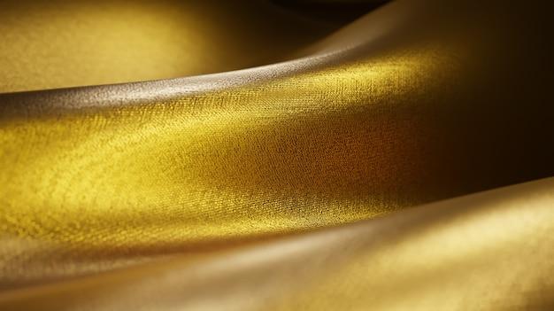 Fond de texture de fil de tissu or de fortune et de luxe