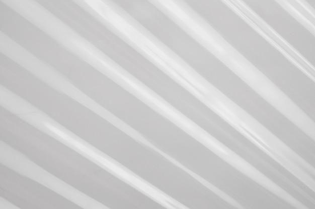 Fond de texture de film plastique blanc
