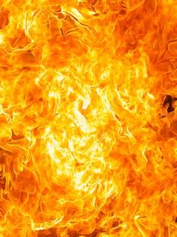 Fond de texture de flamme de feu de flamme