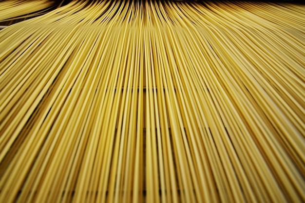Fond ou texture de fond de pâtes et spaghettis
