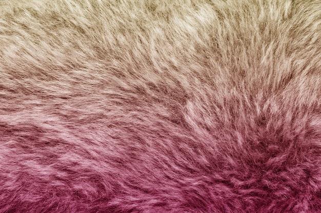 Fond de texture de fourrure artificielle