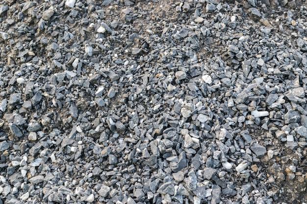 Fond de texture de gravier gris