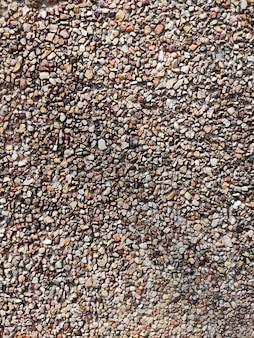 Fond et texture de gravier en pierre