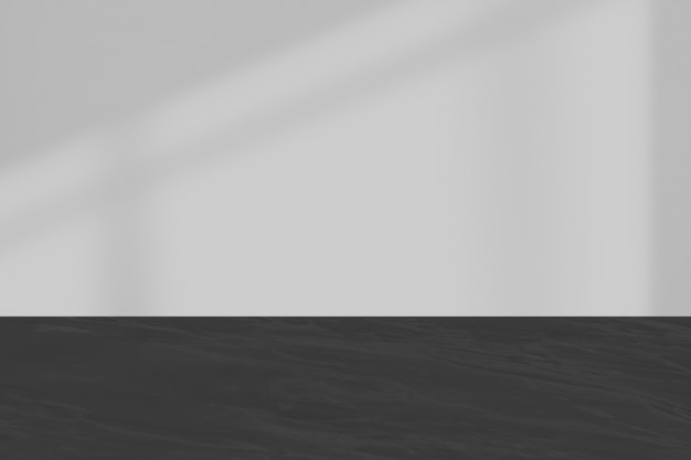 Fond texturé gris avec ombre de fenêtre