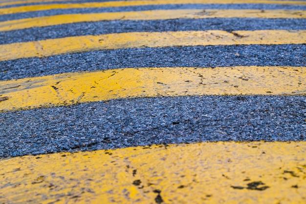 Fond de texture grunge danger jaune bande