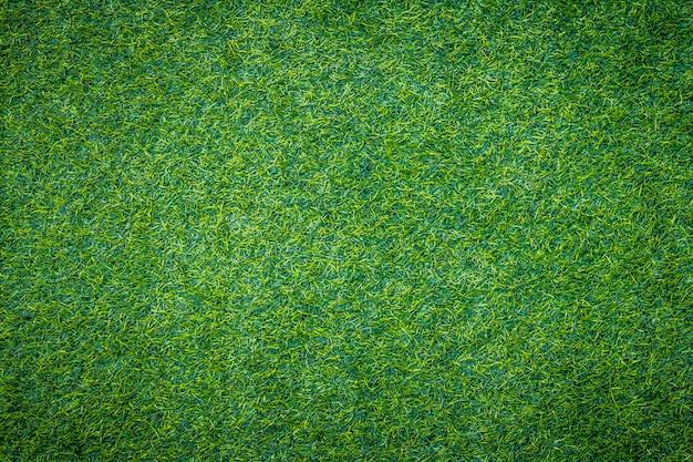 Fond de texture d'herbe verte artificielle
