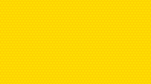 Fond de texture hexagone jaune.