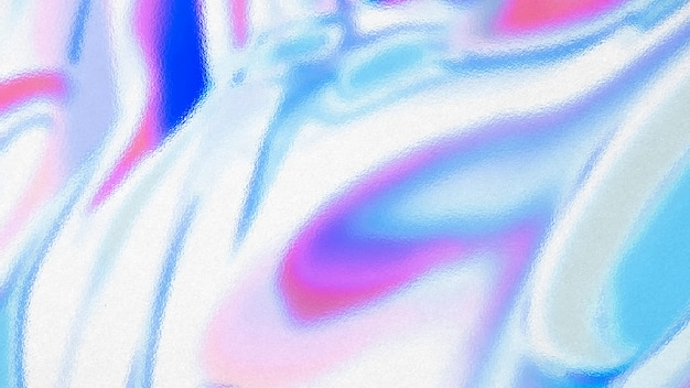Fond texturé holographique coloré abstrait