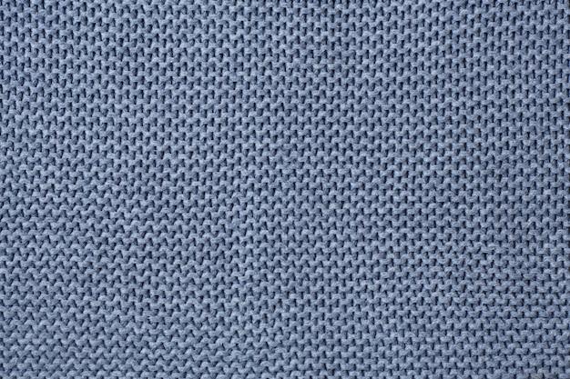 Fond de texture de laine à tricoter gris