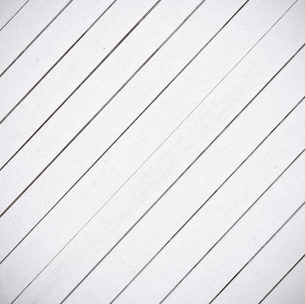 Le fond de texture de lambris de bois blanc de près.