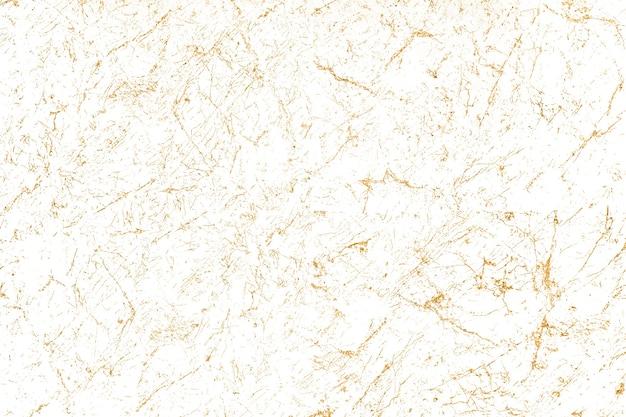 Fond texturé en marbre blanc et doré
