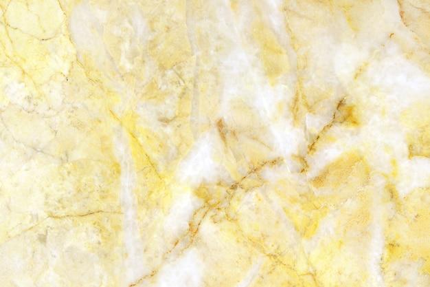 Fond de texture de marbre blanc et or en motif naturel