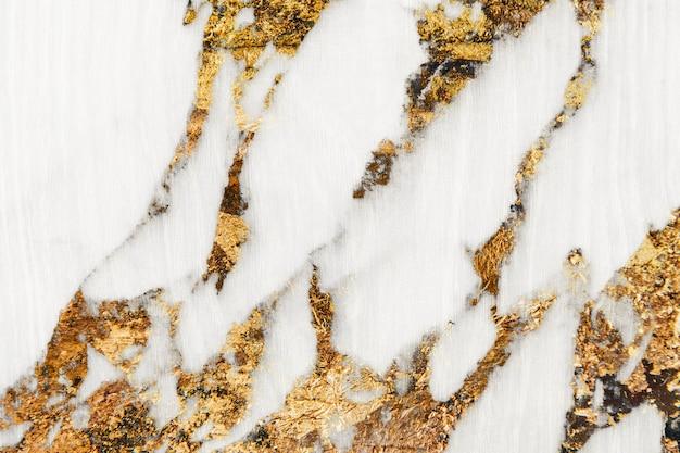 Fond texturé en marbre doré