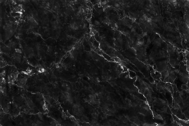 Fond de texture de marbre gris noir en motif naturel à haute résolution,